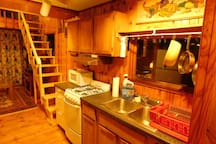 Cabin One - Kitchen