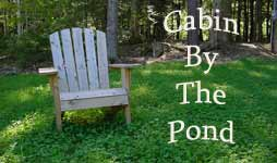Cabin by the Pond banner